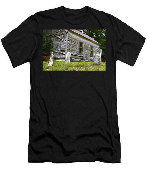 Hocking Hills Church Men's T-Shirt (Athletic Fit)