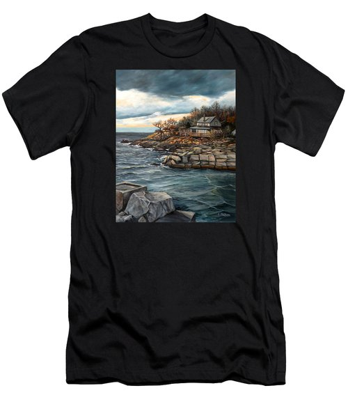 Hodgkins Cove Gloucester Ma Men's T-Shirt (Athletic Fit)