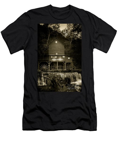Hodgson Gristmill Men's T-Shirt (Slim Fit) by Robert Frederick