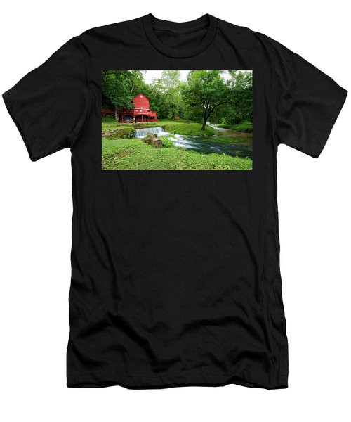 Hodgson Water Mill And Spring Men's T-Shirt (Athletic Fit)