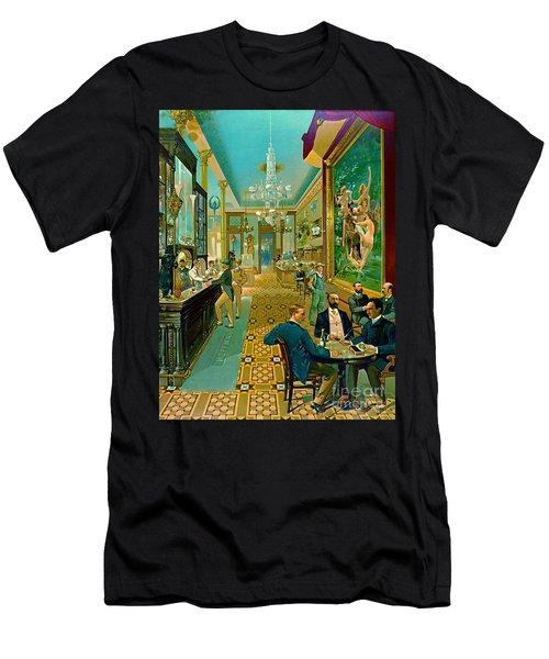 Hoffman House Bar 1890 Men's T-Shirt (Athletic Fit)