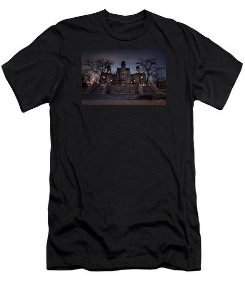 Hogwarts - Hall Of Languages Men's T-Shirt (Slim Fit) by Everet Regal