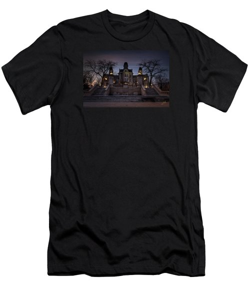 Hogwarts - Hall Of Languages Men's T-Shirt (Athletic Fit)