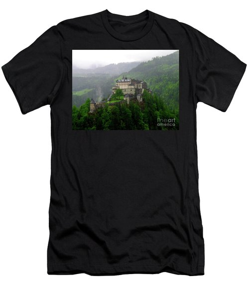 Hohenwerfen Castle Men's T-Shirt (Slim Fit) by Sheila Ping