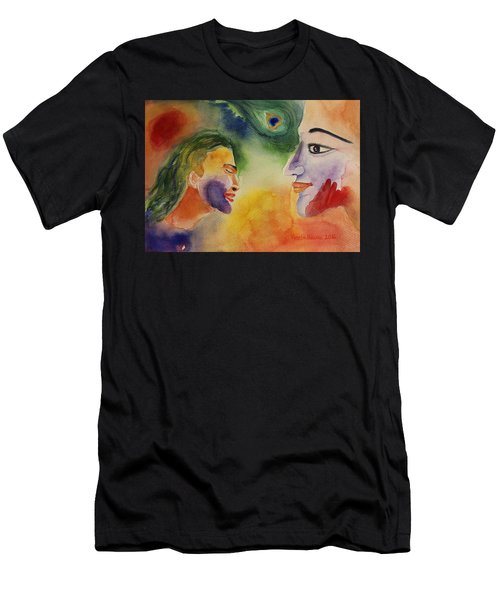Holi The Festival Of Colors Men's T-Shirt (Athletic Fit)