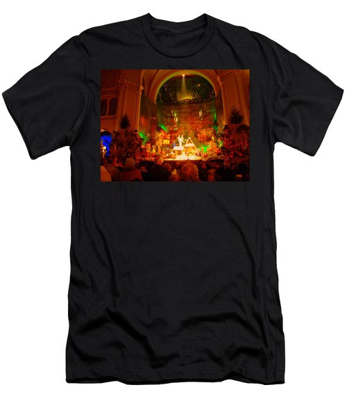 Holiday Decor In The Basilica Men's T-Shirt (Athletic Fit)