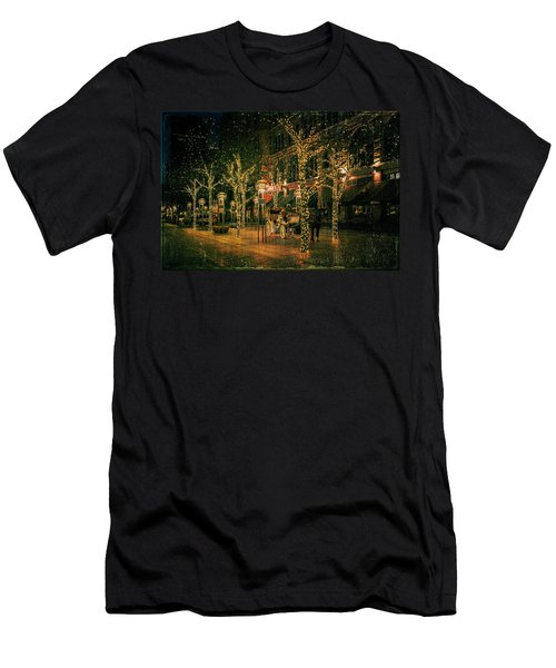Holiday Handsome Cab Men's T-Shirt (Athletic Fit)