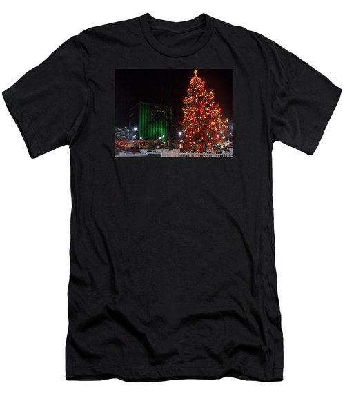 Holidays Downtown Men's T-Shirt (Athletic Fit)