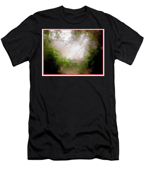 Men's T-Shirt (Slim Fit) featuring the photograph Holly Heart by Bonnie Willis