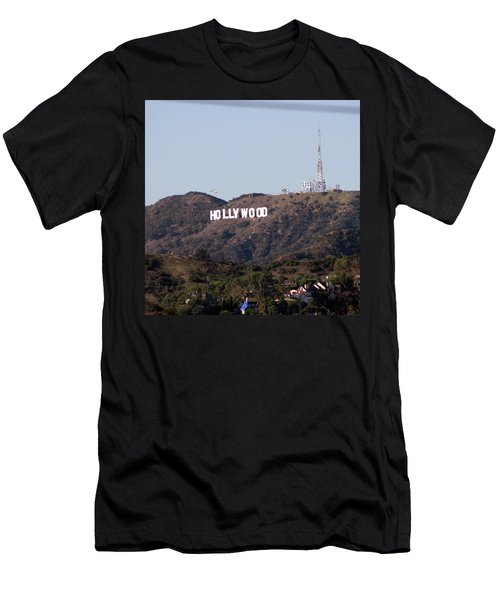 Hollywood And Helicopters Men's T-Shirt (Athletic Fit)