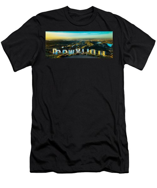 Hollywood Dreaming Men's T-Shirt (Athletic Fit)