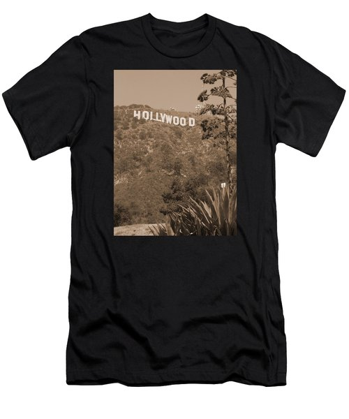 Hollywood Signage Men's T-Shirt (Athletic Fit)