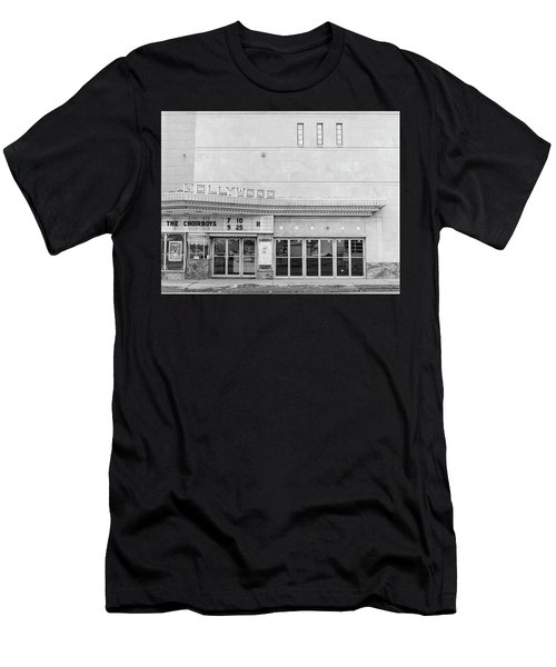 Hollywood Theater Marquee Men's T-Shirt (Athletic Fit)