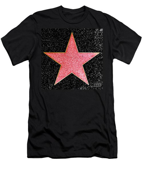 Hollywood Walk Of Fame Star Men's T-Shirt (Athletic Fit)