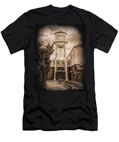 Hollywood Water Tower 2 Men's T-Shirt (Athletic Fit)