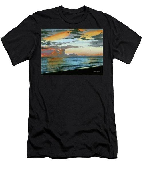 Holmes Beach Men's T-Shirt (Athletic Fit)