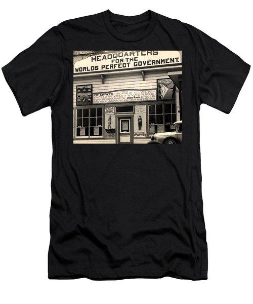 Holy City World Government Santa Clara County California 1938 Men's T-Shirt (Athletic Fit)