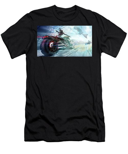 Holy Crap That Is Fast. Men's T-Shirt (Athletic Fit)