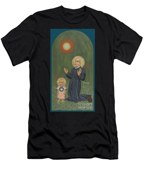 Holy Father Pedro Arrupe, Sj In Hiroshima With The Christ Child 293 Men's T-Shirt (Athletic Fit)