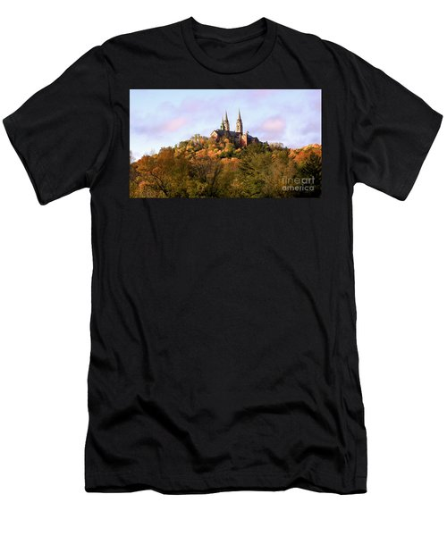 Holy Hill Basilica, National Shrine Of Mary Men's T-Shirt (Athletic Fit)