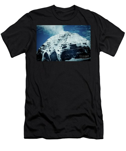 Holy Kailas North Slop Himalayas Tibet Artmif.lv Men's T-Shirt (Athletic Fit)