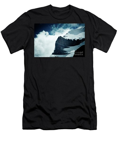 Holy Kailas West Slop Himalayas Tibet Artmif.lv Men's T-Shirt (Athletic Fit)