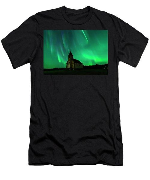 Holy Places Men's T-Shirt (Athletic Fit)