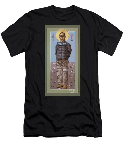 Holy Prophet Benjamin Salmon 083 Men's T-Shirt (Athletic Fit)