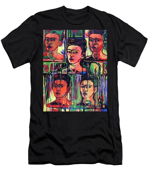 Homage To Frida Kahlo Men's T-Shirt (Athletic Fit)