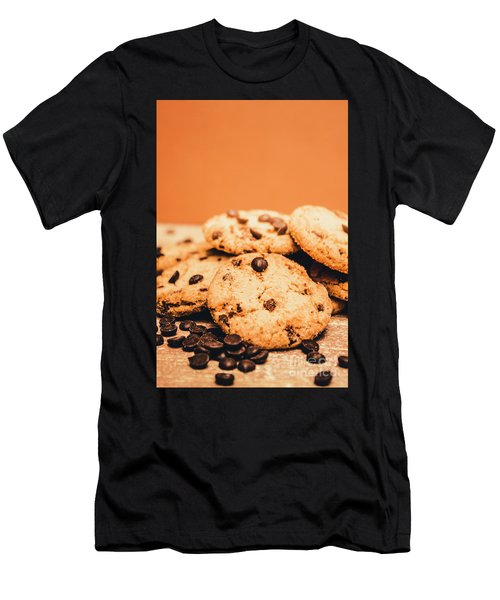 Home Baked Chocolate Biscuits Men's T-Shirt (Athletic Fit)