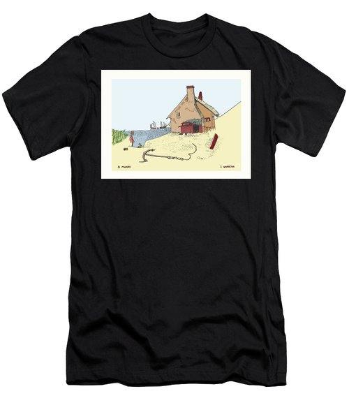Home By The Sea Men's T-Shirt (Athletic Fit)