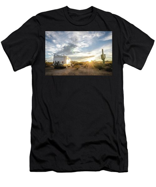 Home In The Desert Men's T-Shirt (Athletic Fit)