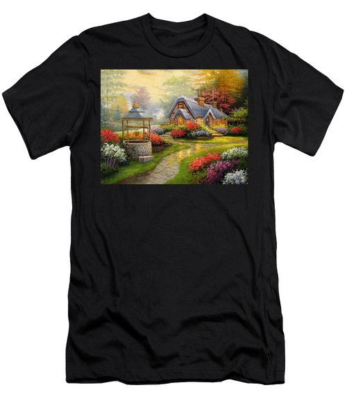 Home Is Where You Find Real Love Men's T-Shirt (Athletic Fit)