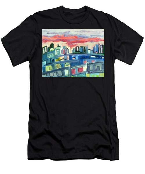 Home To The Softer Side Of City Men's T-Shirt (Athletic Fit)