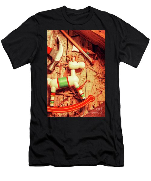Homemade Christmas Toy Men's T-Shirt (Athletic Fit)