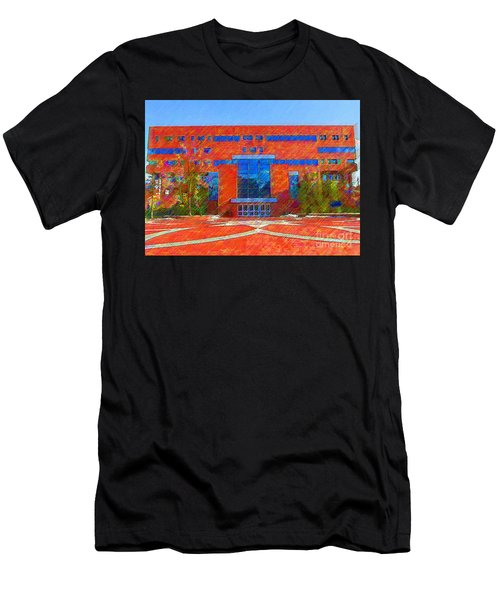 Homer Library Men's T-Shirt (Athletic Fit)