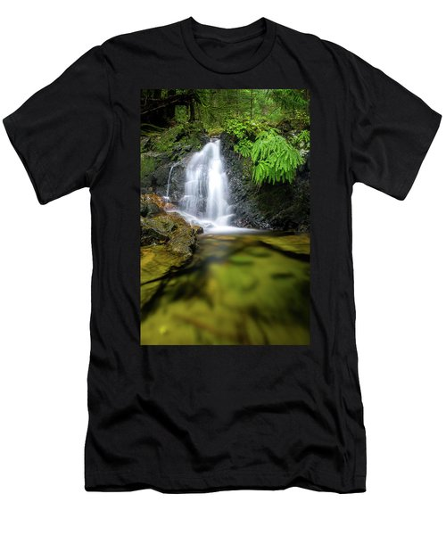 Homesite Falls Autumn Serenity Men's T-Shirt (Athletic Fit)
