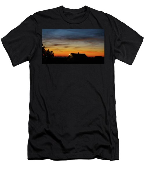 Men's T-Shirt (Slim Fit) featuring the photograph Homestead by Angi Parks