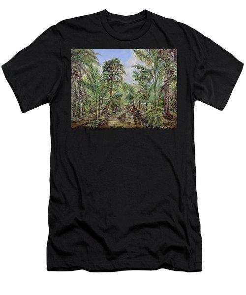 Homestead Tree Farm Men's T-Shirt (Athletic Fit)