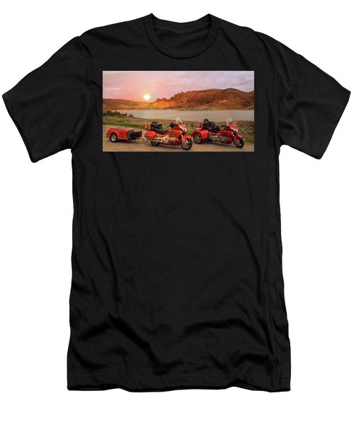 Honda Goldwing Bike Trike And Trailer Men's T-Shirt (Athletic Fit)
