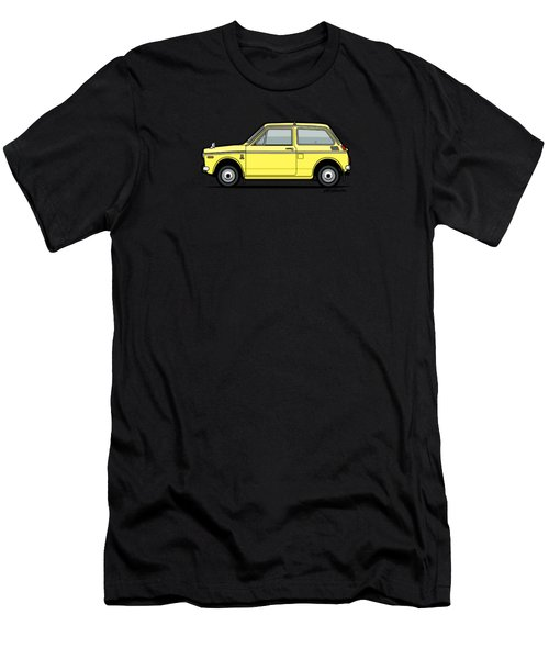 Honda N360 Yellow Kei Car Men's T-Shirt (Athletic Fit)