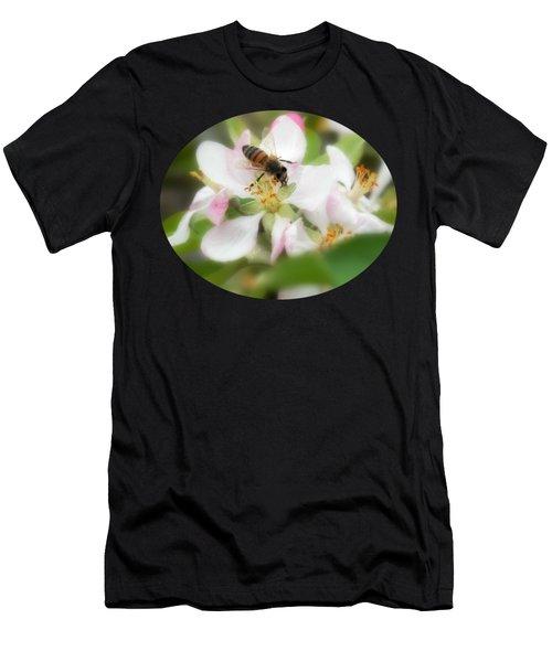 Honey Bee - Paint Men's T-Shirt (Athletic Fit)