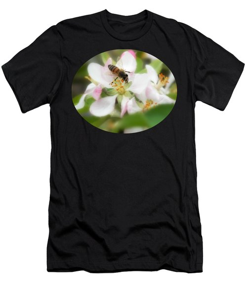 Honey Bee - Paint Men's T-Shirt (Athletic Fit)