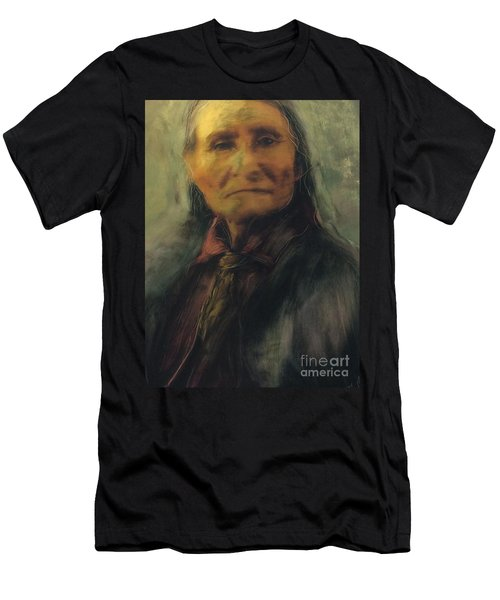 Honoring Geronimo Men's T-Shirt (Athletic Fit)