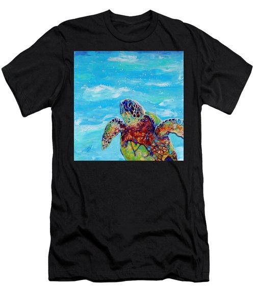 Honu 10 Men's T-Shirt (Athletic Fit)