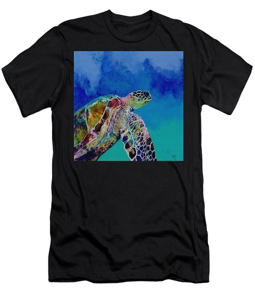 Honu 7 Men's T-Shirt (Athletic Fit)