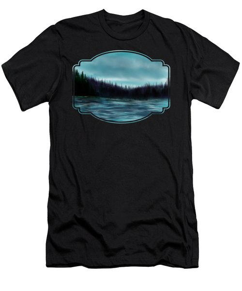 Hood Canal Puget Sound Men's T-Shirt (Athletic Fit)
