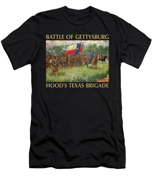 Hood's Texans - The Texas Brigade At The Battle Of Gettysburg Men's T-Shirt (Athletic Fit)