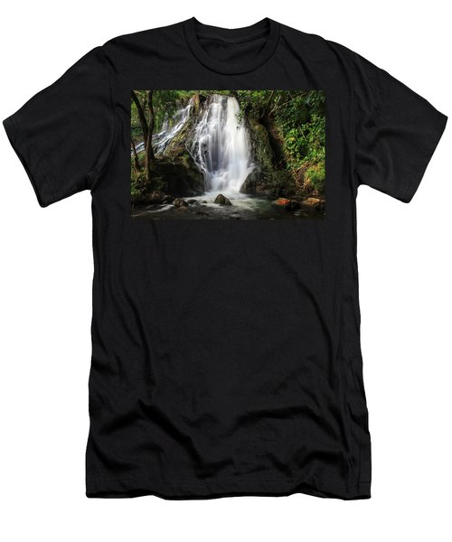 Hoopii Falls Men's T-Shirt (Athletic Fit)