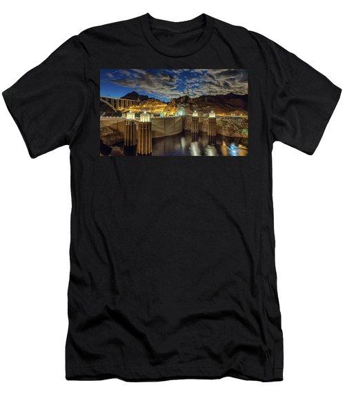 Hoover Dam Men's T-Shirt (Athletic Fit)